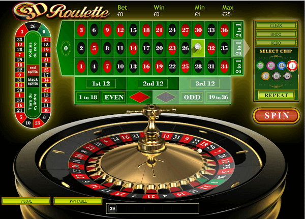 Play Online Roulette Uk
