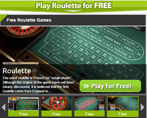 Roulette the game online winning roulette strategy