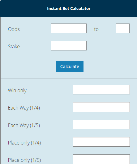 Roulette Payouts Calculator