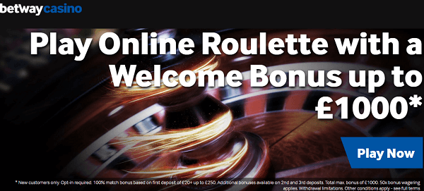 Betway Roulette Site