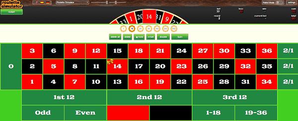 roulette wheel simulator