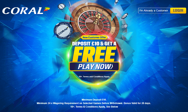 Play Roulette Online at Coral