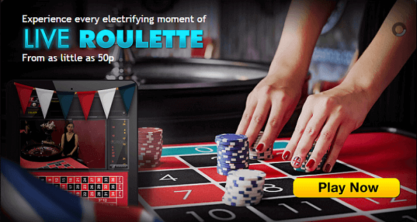 Grosvenor Online Live Roulette UK
