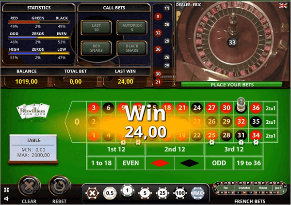 Roulette tricks to win in casino