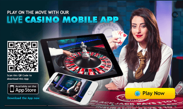 Live Roulette App for iPhone