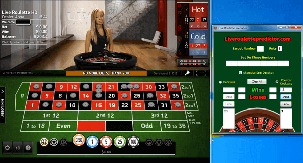 online casino roulette prediction