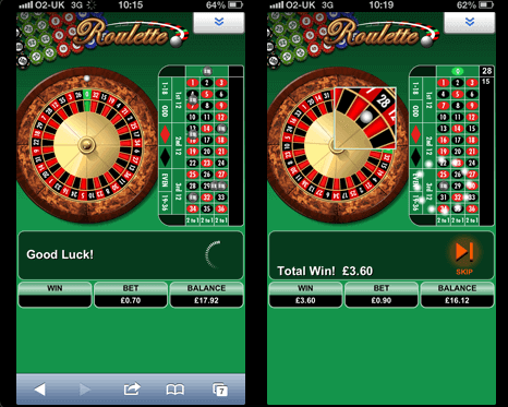 play roulette online mobile