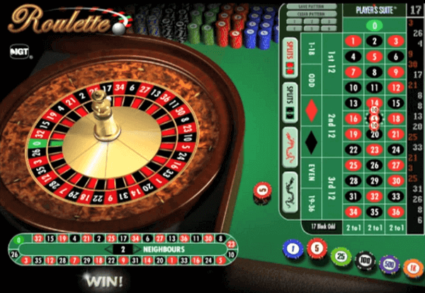 Playing roulette online free